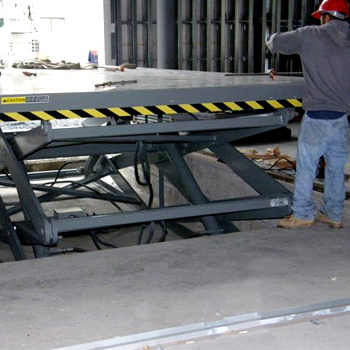 Installation of Lift Table