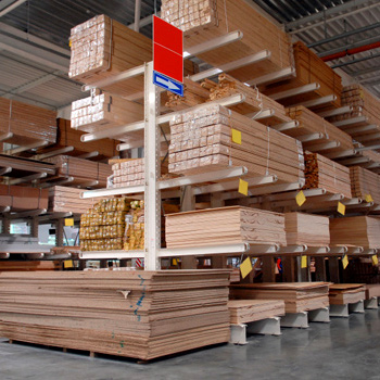 Cantilever Rack, storing wood